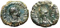 "Ancient Coins - Aurelian & Vabalathus BI Tetradrachm ""Portraits of Both"" Egypt, Alexandria gVF"