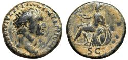 "Ancient Coins - Titus AE Dupondius ""ROMA Roma Seated, Wreath"" Thracian Mint 80-81 AD Scarce"