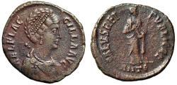 "Ancient Coins - Aelia Flaccilla (Wife of Theodosius I) AE2 ""SALVS REIPVLICAE Empress"" Antioch"