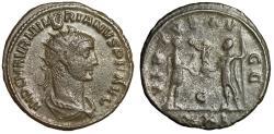 """Ancient Coins - Numerian Antoninianus """"VIRTVS AVGG Emperor & Carus, Globe"""" Antioch RIC 466"""