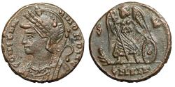 """Ancient Coins - Constantinople City Commemorative """"Winged Victory, S-R"""" Alexandria RIC 9 gVF"""
