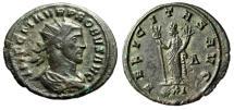 """Ancient Coins - Probus AE Antoninianus """"Felicitas, Caduceus"""" Siscia RIC 682 VF"""