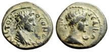 """Ancient Coins - Mysia, Pergamon Pseudo-Autonomous Issue """"Senate & Roma, Crescent"""" gVF Rare"""