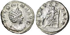 "Ancient Coins - Salonina (Wife of Gallienus) AR Antoninianus ""VENVS FELIX Venus Seated"" Cologne"
