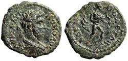 """Ancient Coins - Commodus AE17 """"Laureate Bust & Apollo Drawing Bow"""" Thrace Hadrianopolis Rare nEF"""