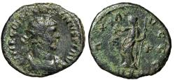 """Ancient Coins - Diocletian Ant. """"PAX AVGGG Pax"""" London RIC 9 Rare Struck by Carausius 291-292 AD"""