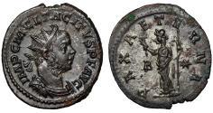 "Ancient Coins - Tacitus Silvered Antoninianus ""PAX AETERNA Pax"" Lugdunum RIC 33 EF"