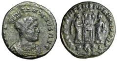 "Ancient Coins - Constantine I The Great ""Two Victories, Captives Bound in Exergue"" Lyons RIC 79"