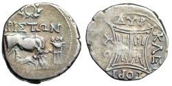 "Ancient Coins - Illyria, Dyrrhachion AR Drachm ""Tripod & Wreath"" Ariston & Kleitorios Rare"