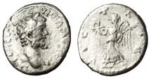 "Ancient Coins - Septimius Severus Silver Denarius ""VICT AVG Victory"" Emesa RIC 424"