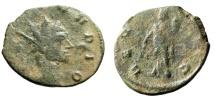 """Ancient Coins - Divo Claudius II Gothicus Posthumous Antoninianus """"Aequitas"""" RIC 269 Rare"""