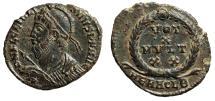 "Ancient Coins - Julian II The Apostate AE19 ""Heroic Bust & Votive"" Heraclea RIC 105 Scarce nEF"