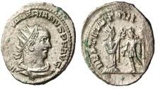 """Ancient Coins - Valerian I Billon Ant. """"RESTITVT ORIENTIS Orient"""" Antioch RIC 287 gVF"""
