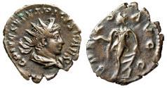 "Ancient Coins - Tetricus II Caesar AE Antoninianus ""SPES AVGG Spes"" RIC 270 VF Well-Centered"