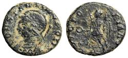 """Ancient Coins - Constantinople Commemorative """"VICTORIA AVG Victory"""" Rome RIC 20 Very Rare"""