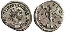 """Numerian Silvered Antoninianus """"MARS VICTOR Mars"""" Lugdunum RIC 388 Choice EF"""