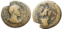 "Ancient Coins - Maximinus I Thrax AE22 ""Eagle Standing on Altar"" Ionia, Magnesia Very Rare"