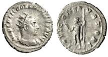 """Valerian I AR Antoninianus """"IOVI CONSERVATORI Jupiter"""" Rome RIC 92 aVF"""