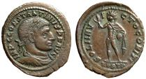 "Ancient Coins - Constantine I The Great ""SOLI INVICTO COMITI Sol"" Ostia Mint RIC 85 Good VF Rare"