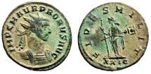"Ancient Coins - Probus Antoninianus ""FIDES MILIT Fides, Transverse Scepter"" RIC 151 Var Scarce"