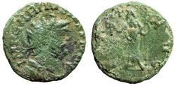 "Ancient Coins - Carausius AE Antoninianus ""PAX AVGG Pax With Branch"" Irregular Mint 287-293 AD"