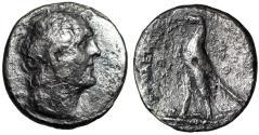 "Ancient Coins - Ptolemaic Kingdom: Ptolemy II Philadelphos AR Tetradrachm ""Portrait & Eagle"""