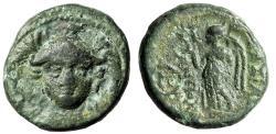 "Ancient Coins - Seleucid Kingdom: Antiochus I Soter ""Athena Facing & Nike, Wreath"" gF"