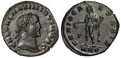 """Ancient Coins - Maximinus II Daia as Caesar Follis """"GENIO CAESARIS Genius"""" Cyzicus RIC 43 EF"""