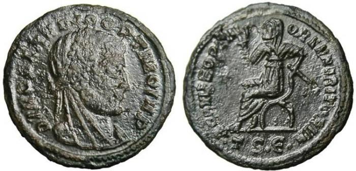 """Ancient Coins - Claudius II Gothicus, AE Quinarius """"Ppsthumous Issue"""" Thessalonica RIC 26 EF"""