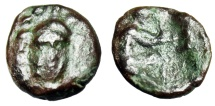 "Ancient Coins - Sicily, Solus Carthaginian Occupation (Punic War) ""Athena Facing & Archer"" Rare"