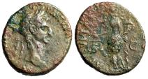 """Ancient Coins - Nerva AE As """"Aequitas Standing, Holding Scales"""" 97 AD RIC 77 Budget"""