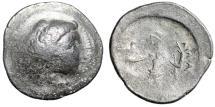 Ancient Coins - Eastern Celtics Imitating Alexander III The Great AR Tetradrachm Very Crude