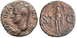 "Ancient Coins - Agrippa (Friend of Augustus) AE As ""His Portrait & Neptune"" Under Caligula"