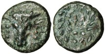 """Ancient Coins - Phokis, Federal Coinage """"Facing Bucranium & Ethnic in Wreath"""" Scarce"""
