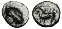 "Ancient Coins - Aeolis, Aigai AE11 ""Apollo & Goat Standing Left"" Very Rare"