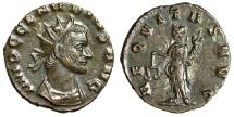 "Ancient Coins - Claudius II Gothicus Antoninianus ""Aequitas"" Rome EF With Choice Portrait"