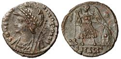 Ancient Coins - Constantinople Commemorative Minted in Alexandria 337-340 AD RIC 9 Choice EF