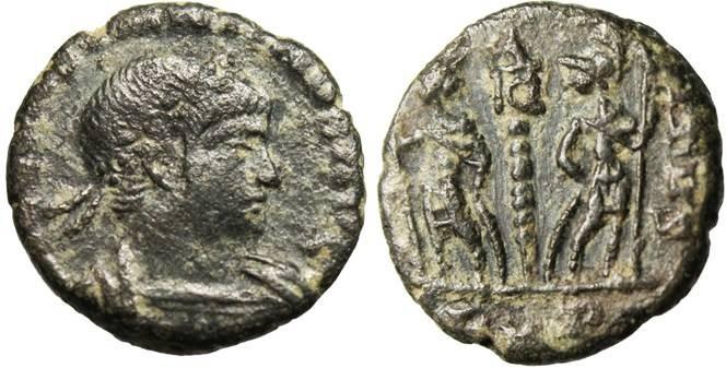 "Ancient Coins - Constantine II, AE3 ""VIC CONSTANTINVS"" Rome RIC 24 RARE"