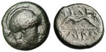 """Ancient Coins - Kingdom of Pergamon: King Philetairos AE12 """"Athena & Strung Bow"""""""