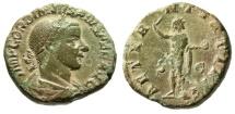 "Ancient Coins - Gordian III AE Sestertius ""AETERNITATI AVG Sol, Globe"" Rome RIC 297a VF"
