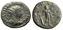 "Ancient Coins - Vabalathus Antoninianus ""IVENVS AVG Hercules, Star Right"" Antioch RIC 4 Var Rare"