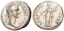 """Ancient Coins - Nerva Silver AR Denarius """"Aequitas"""" Rome 97 AD RIC 13 VF"""