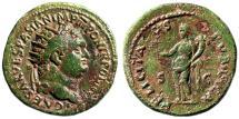 "Ancient Coins - Titus AE Dupondius ""FELICITAS PVBLICA Felicitas"" Rome 73AD RIC 504 Very Rare"
