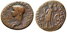 """Ancient Coins - Claudius I AE As """"CONSTANTIAE AVGVSTI Constantia"""" Rome 50-54 AD RIC 111"""