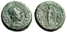 """Ancient Coins - Ionia, Smyrna Pseudo-Autonomous Issue """"Athena & Nike"""" BMC 147 Rare"""