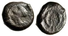 "Ancient Coins - Sicily, Syracuse AE Drachm (33.31g) ""Athena & Two Dolphins Around Sea-Star"""