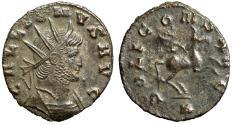 """Ancient Coins - Gallienus AE Antoninianus """"Cuirassed Portrait & Pegasus"""" RIC 283 Rare Portrait"""