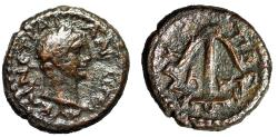 "Ancient Coins - Trajan AE15 ""Anchor, Dated CY 91 (109/10 AD)"" Judea (Galilee), Tiberias"