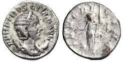"""Ancient Coins - Herennia Etruscilla (Wife of Trajan Decius) AR Antoninianus """"IVNO REGINA Juno"""""""