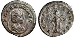 """Ancient Coins - Salonina Silvered Antoninianus """"VENER VICTRICI Salus"""" Unpublished Extremely Rare"""
